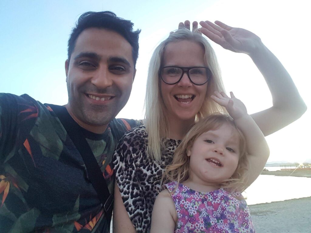 Familie lykke